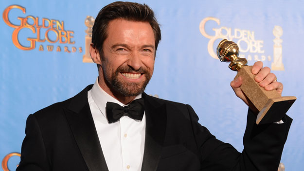 Hugh Jackman takes out Golden Globe award