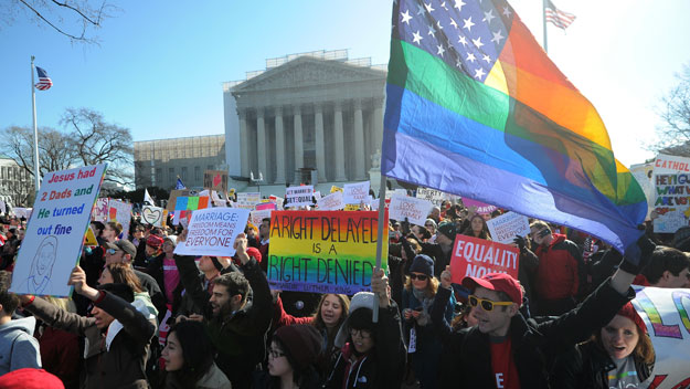 US Supreme Court considers gay marriage