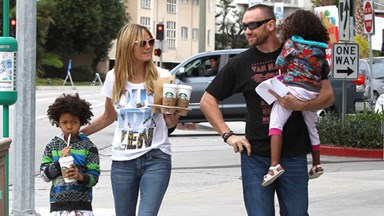 "Heidi Klum: ""I pay my kids to eat healthy food"""