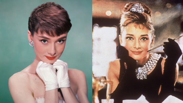 Audrey Hepburn: Big nose, too skinny and flat-chested