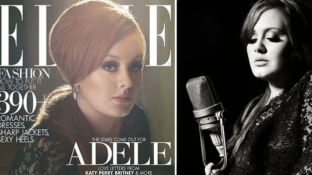 New mum Adele looks stunning on cover of Elle