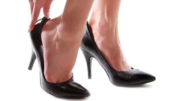 Pregnant in heels: Podiatrists say no