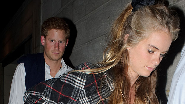 Cressida to be Harry's date for Prince George's christening