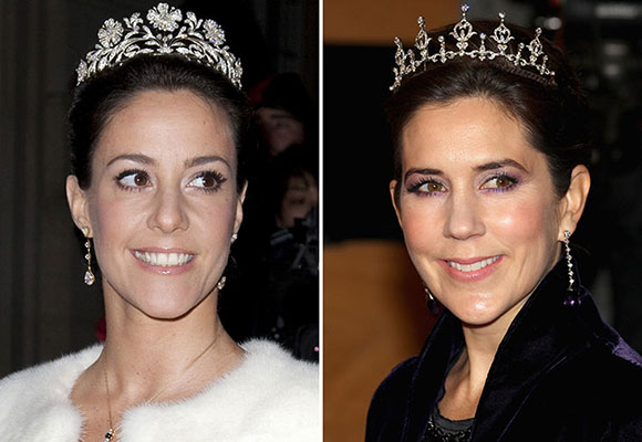 Princess Mary's lookalike sister-in-law Marie
