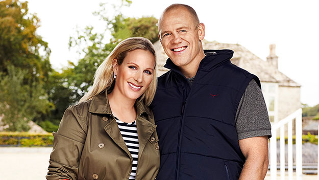 At home with Zara Phillips and Mike Tindall