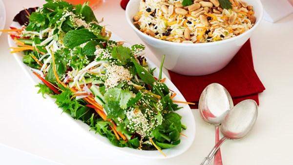 Thai-style green salad