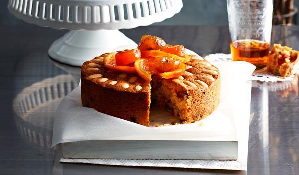 Aww Grand Marnier Fruit Cake