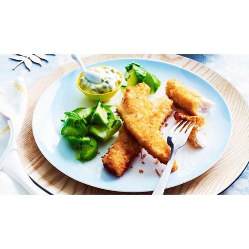Coconut Crumbed Fish Fillets Recipe Food To Love