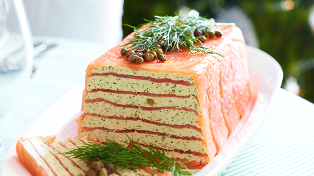 Terrine Recipes Salmon Smoked Salmon Terrine Recipe