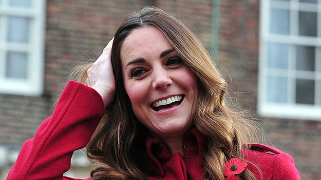 Duchess of Cambridge going grey gracefully