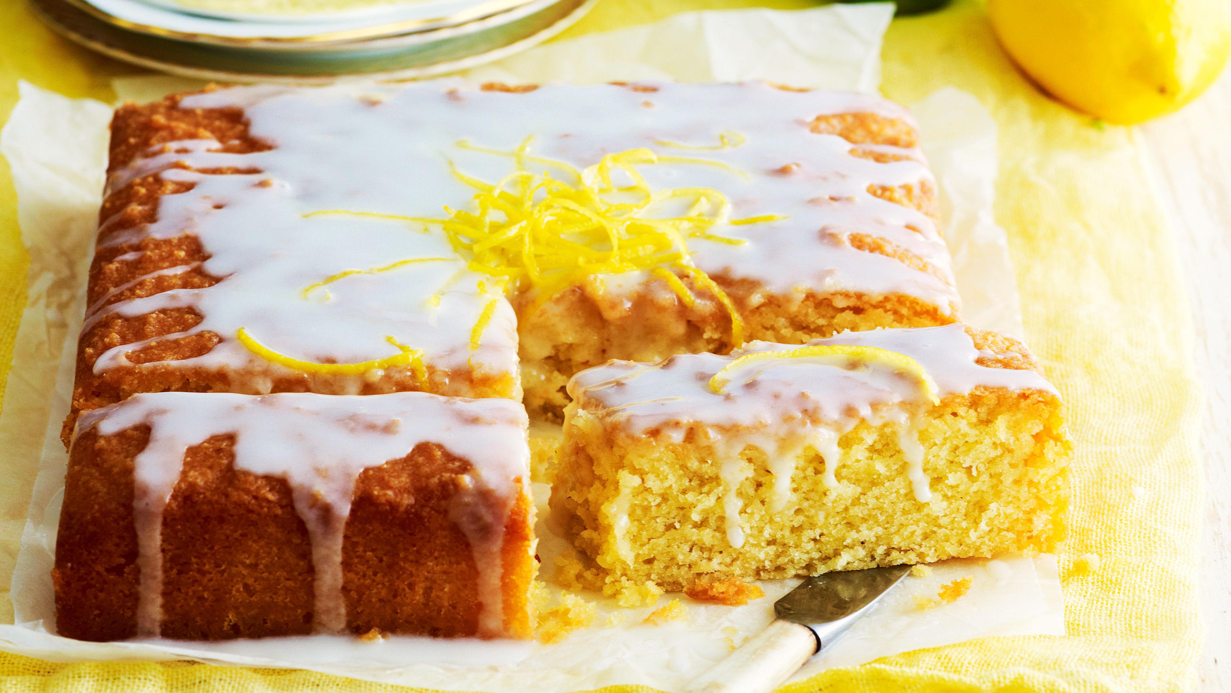 Jamie Oliver Nan S Lemon Drizzle Cake Recipe: Cake Recipe: Lemon Drizzle Cake Ground Almonds Recipe