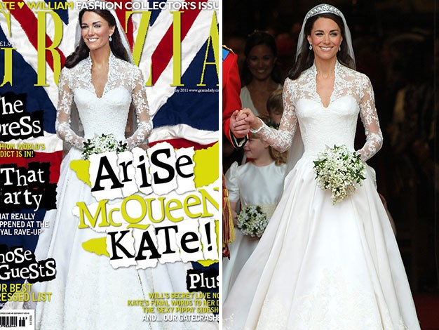 UK Grazia infamously slimmed the Duchess of Cambride's already tiny waist.