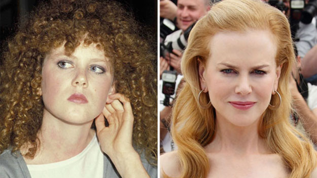 Geek to chic: Nicole Kidman's transformation