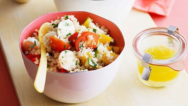 Italian-style quinoa salad