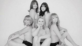 First annual BRCA Babes calendar, breast cancer