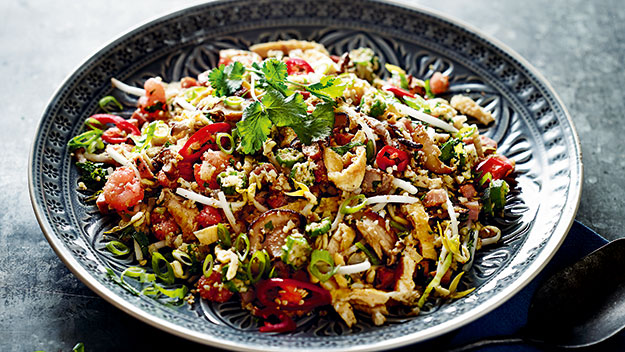 Pete Evans' cauliflower fried rice