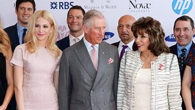 Prince Charles declines Joan Collins' selfie