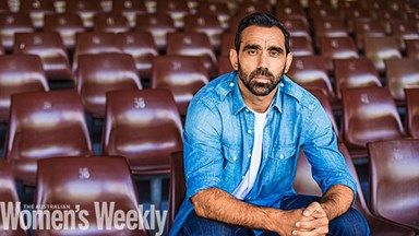 Adam Goodes: My domestic violence story