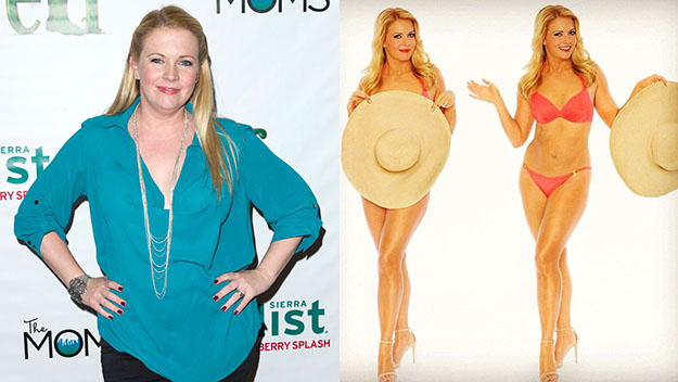 Melissa Joan Hart reveals weight loss in bikini
