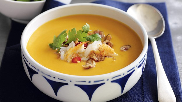 Warming winter soups