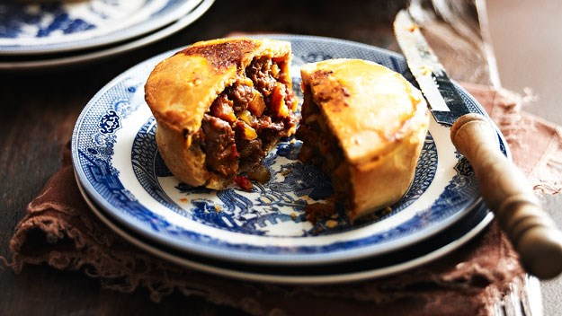 Scrumptious sweet and savoury pies