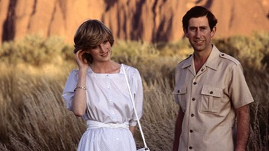 Flashback: Prince Charles and Princess Diana's trip to Uluru