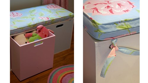 Do-it-yourself: Toy chest cushion | Woman's Day