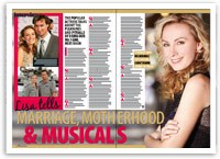 Lisa McCune tells: Marriage, motherhood and musicals