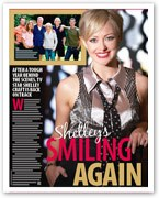 Shelley Craft's smiling again