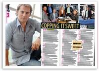 Daniel MacPherson's copping it sweet