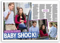 Wills and Kate's baby shock!