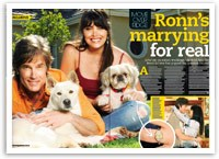 Ronn Moss is marrying for real