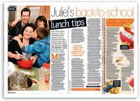 Julie's back-to-school lunch tips