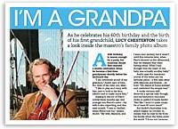 André Rieu's birthday gift: I'm a grandpa