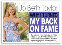 Jo Beth Taylor: Why I turned my back on fame