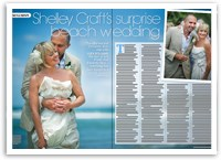 Exclusive: Shelly's surprise beach wedding!