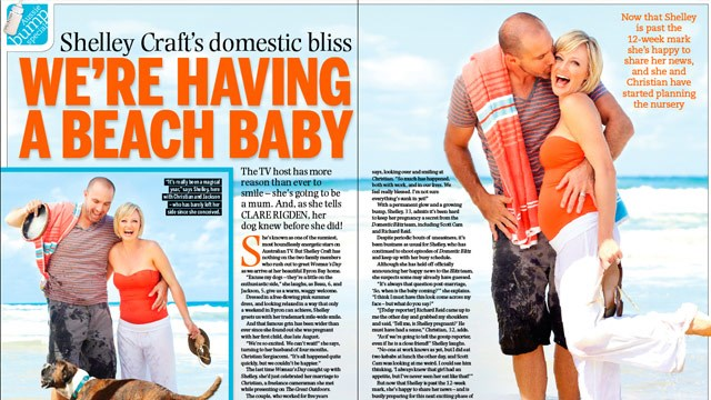 Shelly Craft: We're having a beach baby!