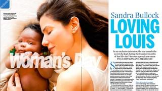 Exclusive: Sandra Bullock loveing Louis