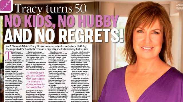 Tracy Grimshaw turns 50!