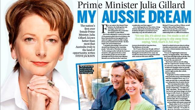 Prime Minister Julia Gillard: My Aussie dream