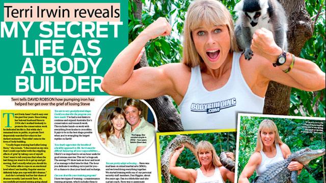 Terri irwin my secret life as a body builder woman s day
