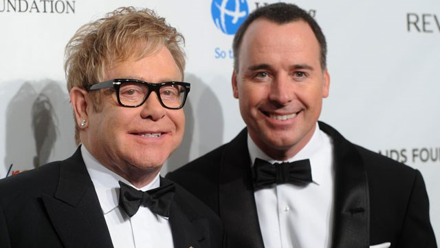 Sir Elton John welcomes a second son