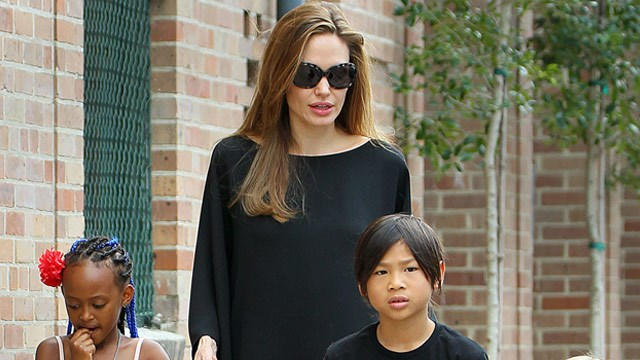 Angelina begs Pax's birth mum: Please don't take my boy