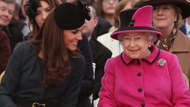 Kate Middleton's joy: It's baby time!
