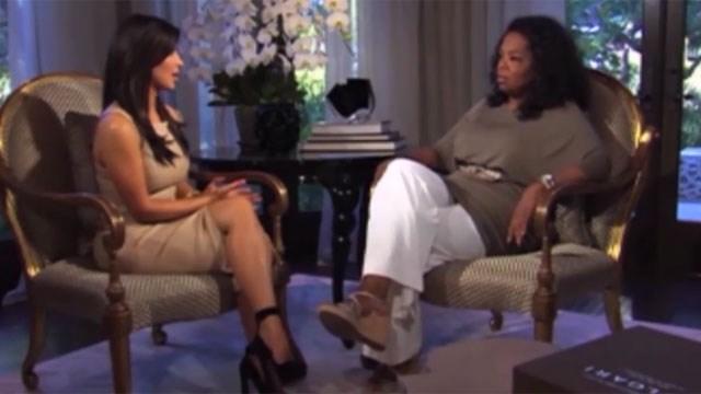 Kim Kardashian opens up to Oprah