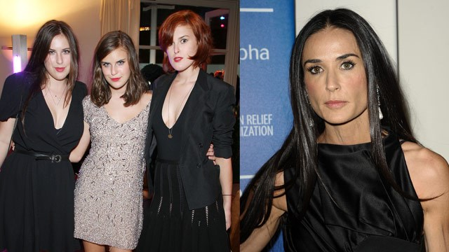 Demi Moore's daughters consider restraining order