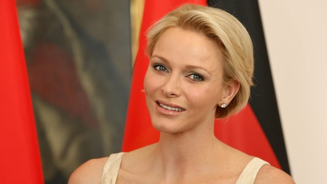 Princess Charlene speaks awkwardly of new life