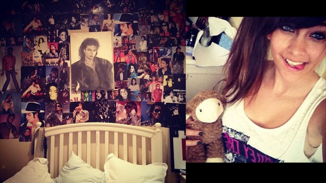 Paris Jackson tweets pic of bedside shrine to her dad Michael