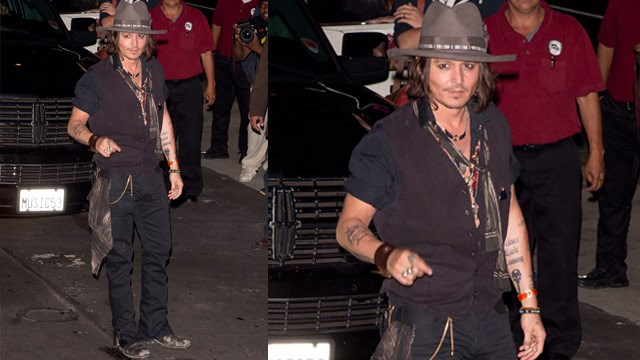 Fans go wild for newly single Johnny Depp