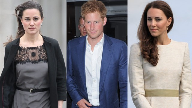 Kate and Pippa's showdown over Prince Harry!